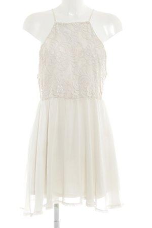 Ivyrevel Spitzenkleid wollweiß florales Muster Romantik-Look