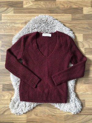 Ivyrevel Pullover a maglia grossa viola-bordeaux
