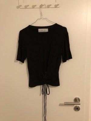 IvyRevel T-Shirt mit Schnürrung zur Taillierung
