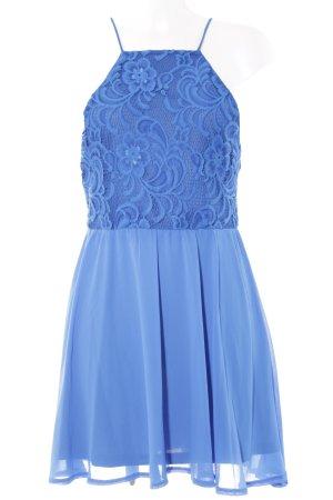 Ivyrevel Trägerkleid neonblau Lingerie-Look