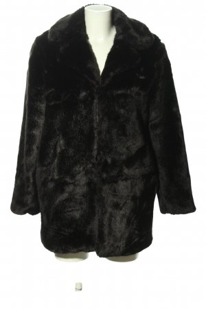 Ivyrevel Giacca in eco pelliccia nero stile casual