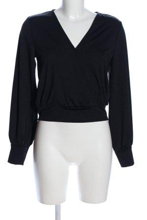 Ivyrevel V-Ausschnitt-Shirt schwarz Business-Look