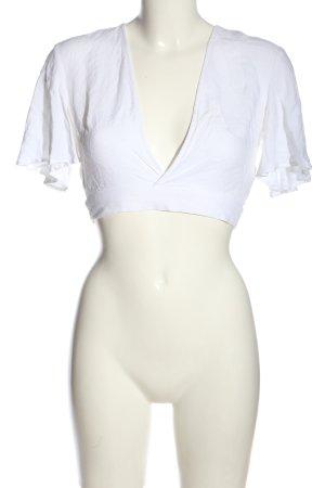 Ivyrevel Camicetta a maniche corte bianco stile casual