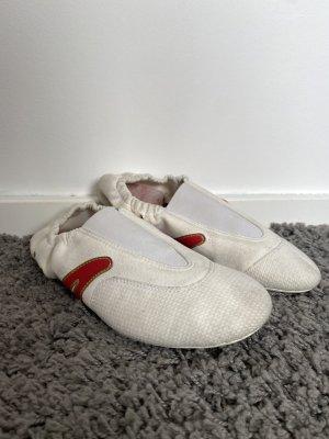IWA Ballerina pieghevole bianco-rosso scuro