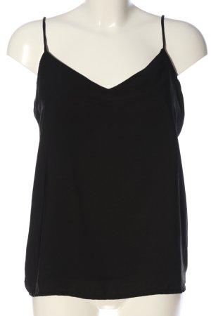 Ix-O Top z cienkimi ramiączkami czarny W stylu casual