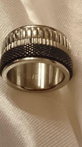 ixxxi Ring  Massiv Gr.17,5 Edelstahl - gestempelt .