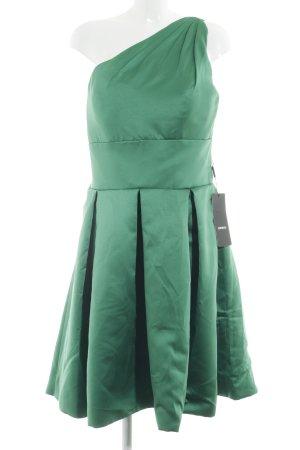 IZIDRESS One-Shoulder-Kleid grün Party-Look