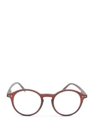 Izipizi Okulary brązowy Nadruk z motywem W stylu casual