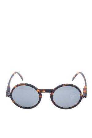 Izipizi Okrągłe okulary przeciwsłoneczne brązowy-czarny W stylu casual