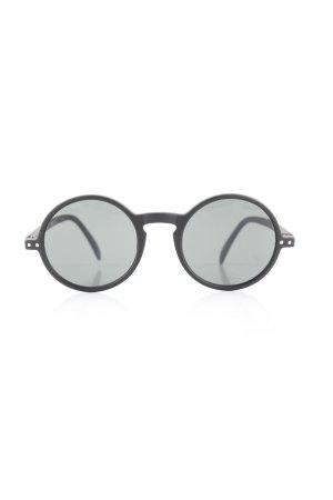 Izipizi Ronde zonnebril zwart casual uitstraling