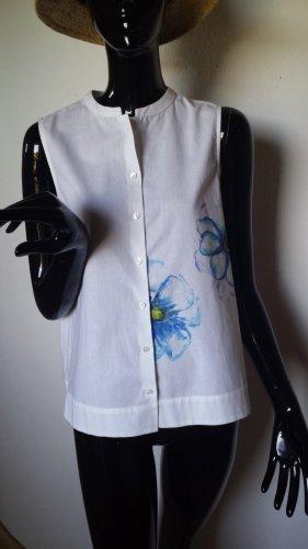 J/B, weiße ärmellose Bluse Gr. 36 bis 38, neu