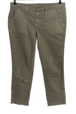 J brand Jeansy 7/8 khaki W stylu casual