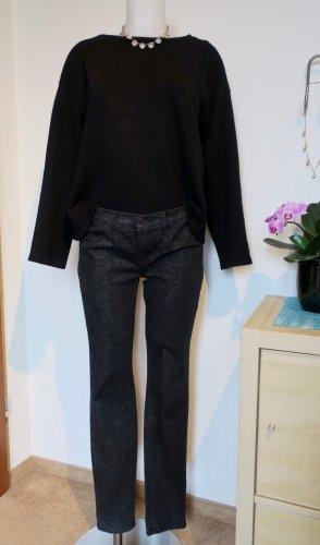 J brand Jeans a gamba dritta nero-grigio