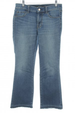 J brand Boot Cut Jeans dunkelblau Washed-Optik
