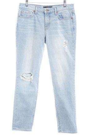 J brand Jeansy typu boyfriend błękitny