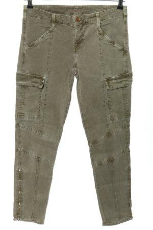 J brand Cargohose khaki-silberfarben Casual-Look