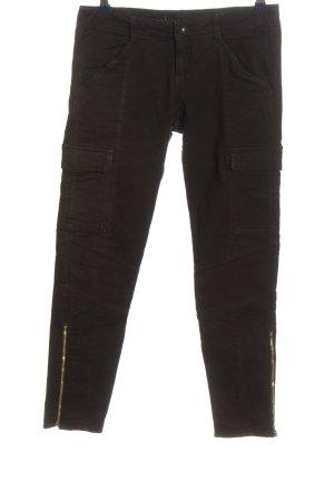 J brand Cargohose schwarz Casual-Look