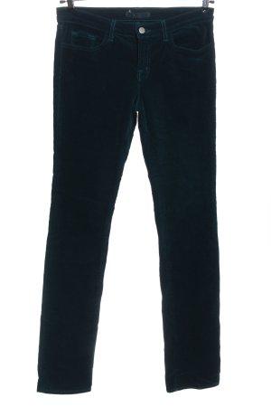 J brand Pantalone di velluto a coste blu stile casual