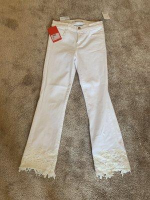 J brand Jeans bootcut blanc