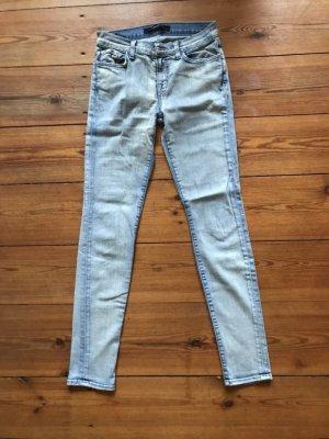 J Brand: Hellblaue Jeans, Slim Cut, Skinny, Hüftjeans, schmal, Gr. 25/30, xs, xxs
