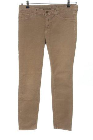 J brand Pantalone a vita alta marrone stile casual