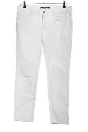 J brand Jeans taille haute blanc style décontracté