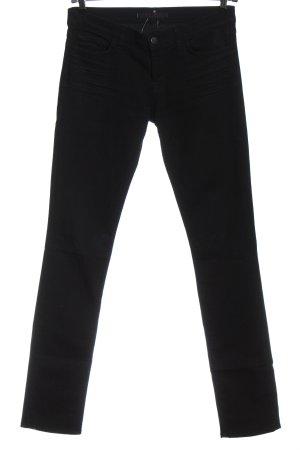 J brand pantalón de cintura baja negro look casual
