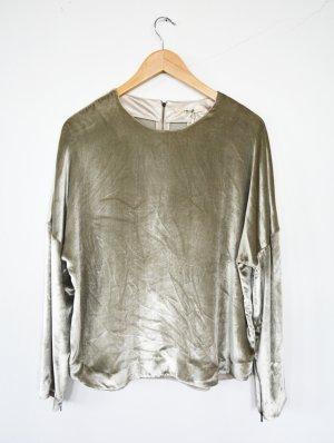 J brand Maglione oversize grigio chiaro Tessuto misto