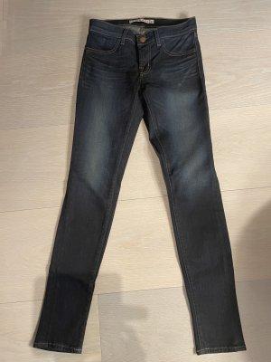 J brand Jeans a sigaretta blu scuro Cotone