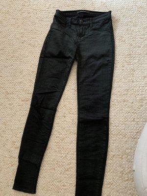 J brand Jeans skinny noir-vert foncé