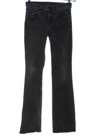 J brand Jeans a zampa d'elefante blu stile casual