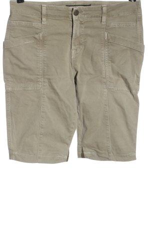 J brand Pantaloncino di jeans bianco sporco stile casual