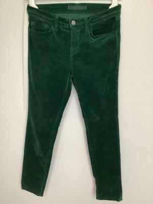 J brand Pantalone a sigaretta verde bosco