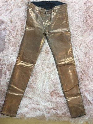 J Brand Metallic Bronze Hose
