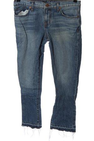 J brand Jeans a sigaretta blu stile casual