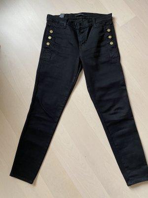 J brand Spodnie z pięcioma kieszeniami czarny