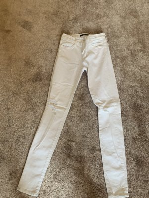 J brand Jeans skinny blanc