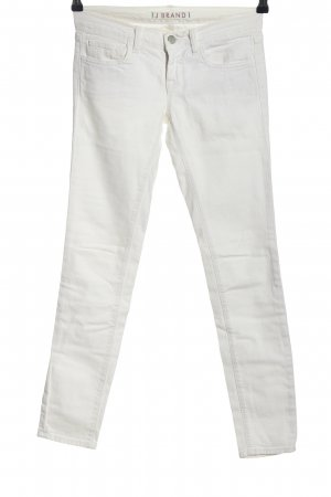 J brand Jeans skinny bianco stile casual