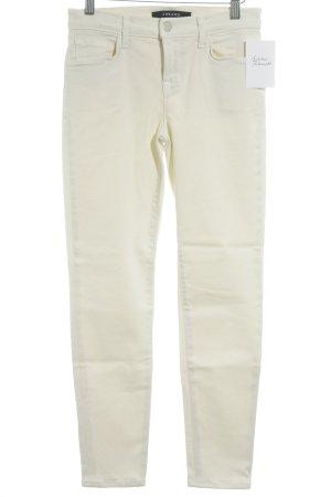 J brand Skinny Jeans cream casual look