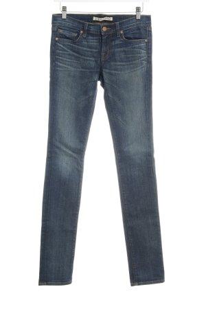 J brand Skinny Jeans dunkelblau Used-Optik