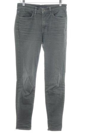 J brand Skinny Jeans dunkelgrau Casual-Look