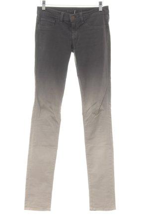 J brand Skinny Jeans grüngrau-grau Farbverlauf Casual-Look