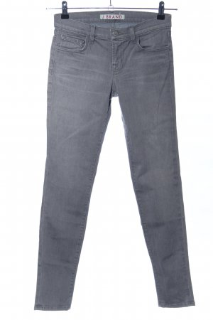 J brand Jeans skinny grigio chiaro stile casual