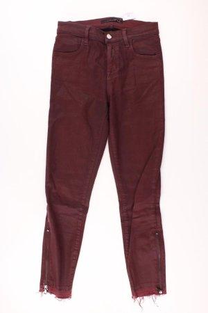 J Brand Skinny Jeans rot Größe 36