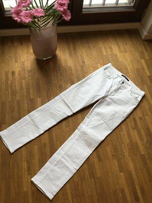 J brand Skinny Jeans white cotton