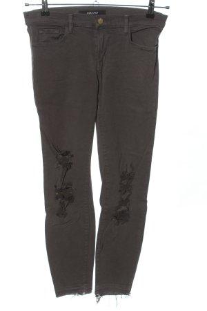 J brand Slim Jeans brown casual look