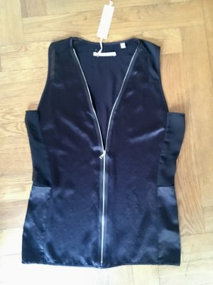 J brand Bustier Top black acetate