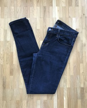J brand Tube Jeans dark blue-blue cotton