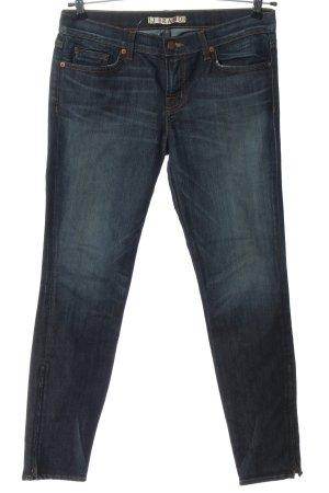 J brand Jeans a gamba dritta blu stile casual