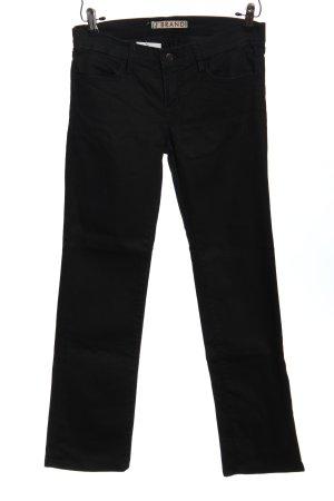 J brand Jeansy z prostymi nogawkami czarny W stylu casual